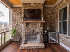 Stone fireplace2