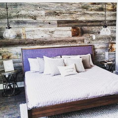 Barnwood Bedroom Wall