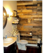 palletwood Bathroom