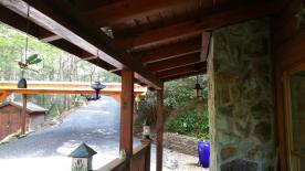 Custome Cedar Deck Ceiling